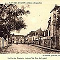 Nantes ancien - La Rue du Séminaire