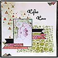 Reflet rose