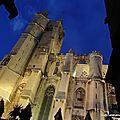 Cathédrale Saint-Just (Narbonne, décembre 2013)