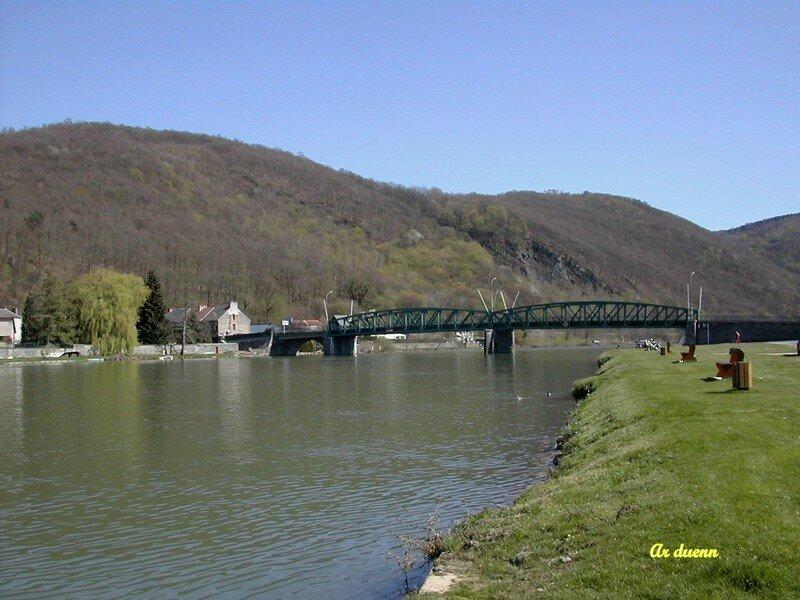 Pont reliant Braux à Levrezy