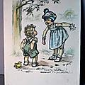 Une gravure de <b>Germaine</b> <b>Bouret</b> de 1934, toujours aussi drôle et charmante !