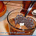 Mousse au chocolat et tofu soyeux (redif) sans lait et sans matière grasse