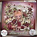 Passionata, le nouveau kit de stephy scrap