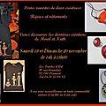 Mireil wallet-hamel & nathalie desterbecq vous invitent dans leur atelier