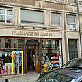 Les pharmacies de nancy.