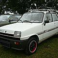 Renault 5 parisienne 2 1984