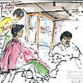 Maboneng coiffeuse de rue
