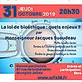 conférence Bioéthique à Bourgoin