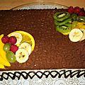Bavarois à la vanille et aux fruits (thermomix)