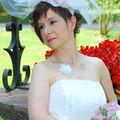 Valerie - collier de mariage Camelia 3