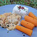 Poulet aux épices douces - ronde interblog mai 2011