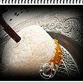 Blanquette de veau vanillée au lait de coco, carottes, champignons de paris, patate douce riz au jasmin.....