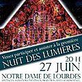Nuit des lumières - 27 juin 2014