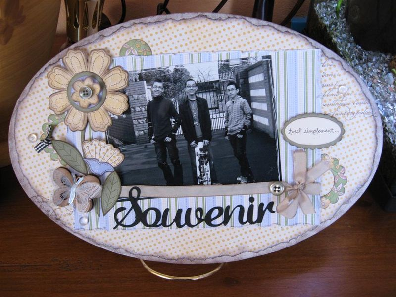 Canvas, atelier stampin up