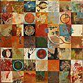 Nouvelles toiles en préparation, seront présentées au château de mauregard lors de l'exposition qui aura lieu du 1er au 10/07