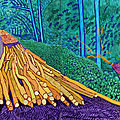Exhibition demonstrates the influence of Vincent Van Gogh on David <b>Hockney</b>'s work