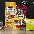 Un zeste de... <b>gélifiant</b> ( agar agar, pectine, maidon...) ou gélatines