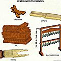 Les <b>instruments</b> traditionnels chinois