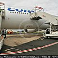 New cabin of airbus a332 f-hbil