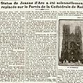 1921 17 juillet : cérémonie au cimetière militaire