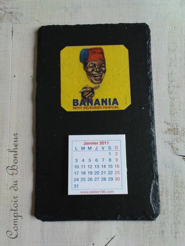 calendrier banania