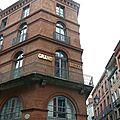 Toulouse et marrakech - le rose et le rouge