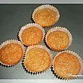 Mini cakes à la noix de coco