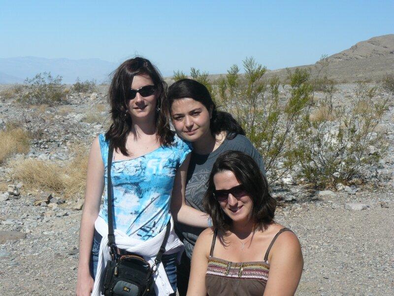 Vallée de feu : Gaëlle, Aurore, Chloé