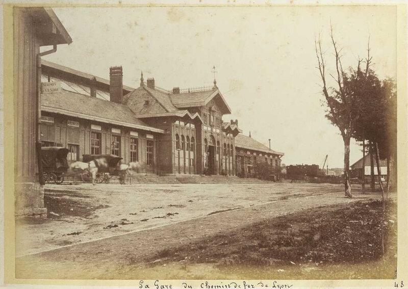 gare viotte vers 1875