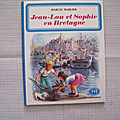 Jean-Lou et Sophie en Bretagne, collection Farandole, éditions Casterman