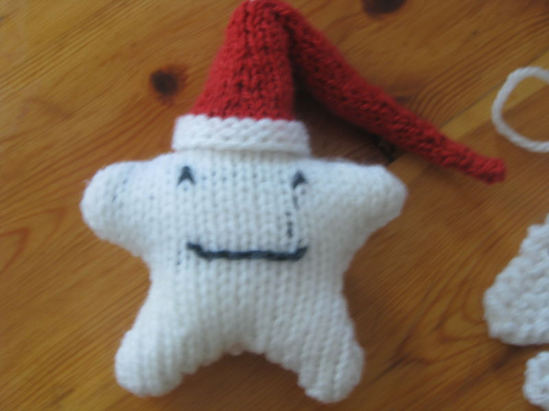 deco noel tricot facile