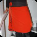 Ma jupe orange et noire
