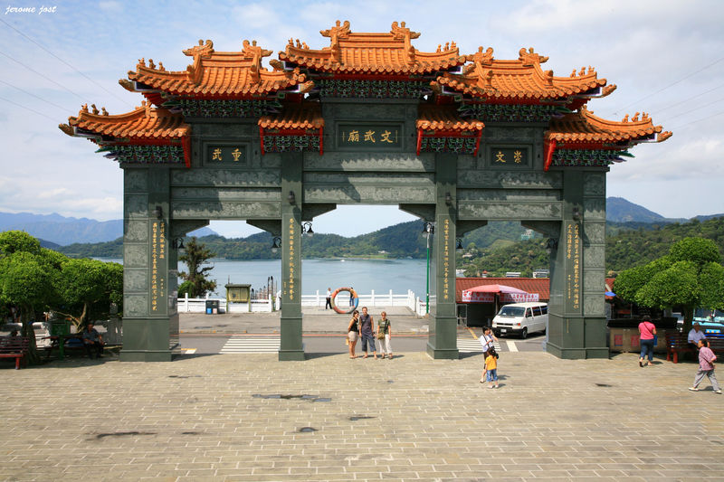 entrée temple WenWu