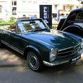 Mercedes 280 SL pagode de 1971 (34ème Internationales Oldtimer meeting de Baden-Baden) 01