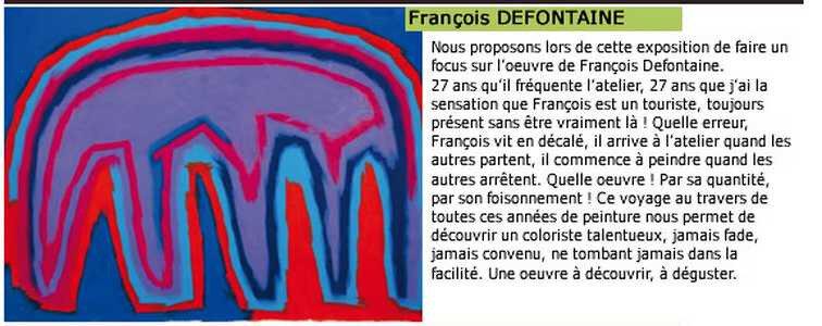 françois defontainprésentation