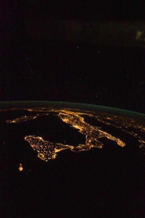 pollution luminesue italie