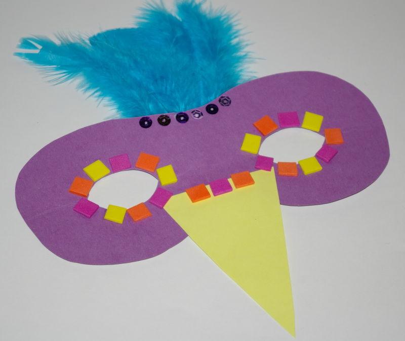Masques oiseau atelier les petits cr ateurs colos - Masque oiseau a imprimer ...