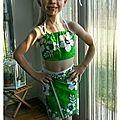 Ebauche de tenue polynésienne
