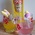 Cocktail vodka banane et tagada purple