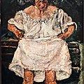 Chaim Soutine, <b>Willem</b> de <b>Kooning</b>, La peinture incarnée au Musée de L' Orangerie Paris