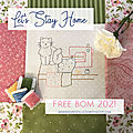 Free <b>BOM</b> - Let's stay home.