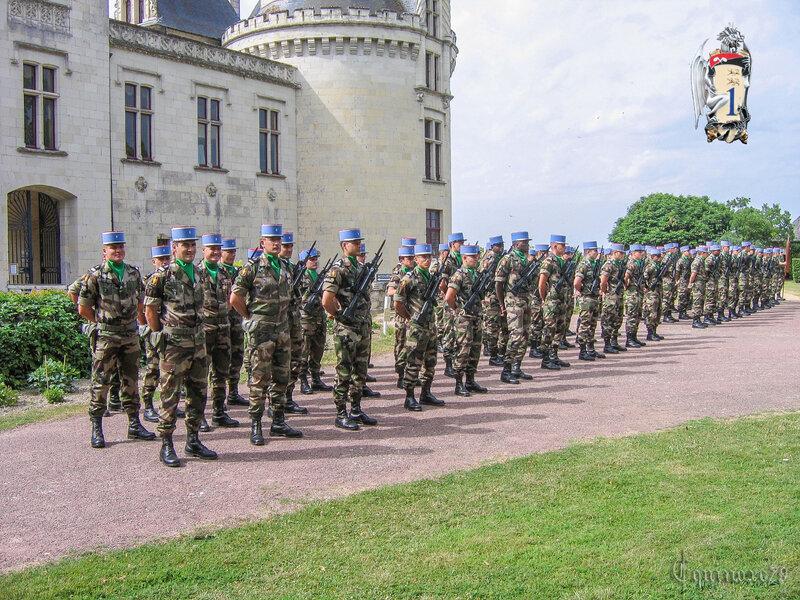 a2e régiment de dragons Fontevraud l'Abbaye - Château Brézé (2)
