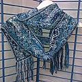 Création d'écharpes aux fuseaux