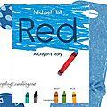 Red a crayon's story, Séquence pour la <b>rentrée</b> : révision des couleurs et du matériel scolaire, cycle 3