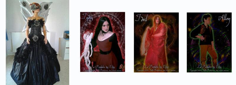 la prophétie des elfes - costumes 2009 - Laureen Delhomme