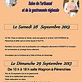 6ème fête de La Tarte à Prônes, Salon