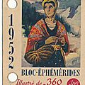 L'<b>ÉPHÉMÉRIDE</b> YVON 1952 (1)