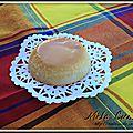 Flan noix de coco et caramel
