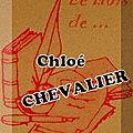 Le mois de ... chloé chevalier (3)