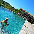 La Temade - Août 2014 - Autour de la piscine - 2